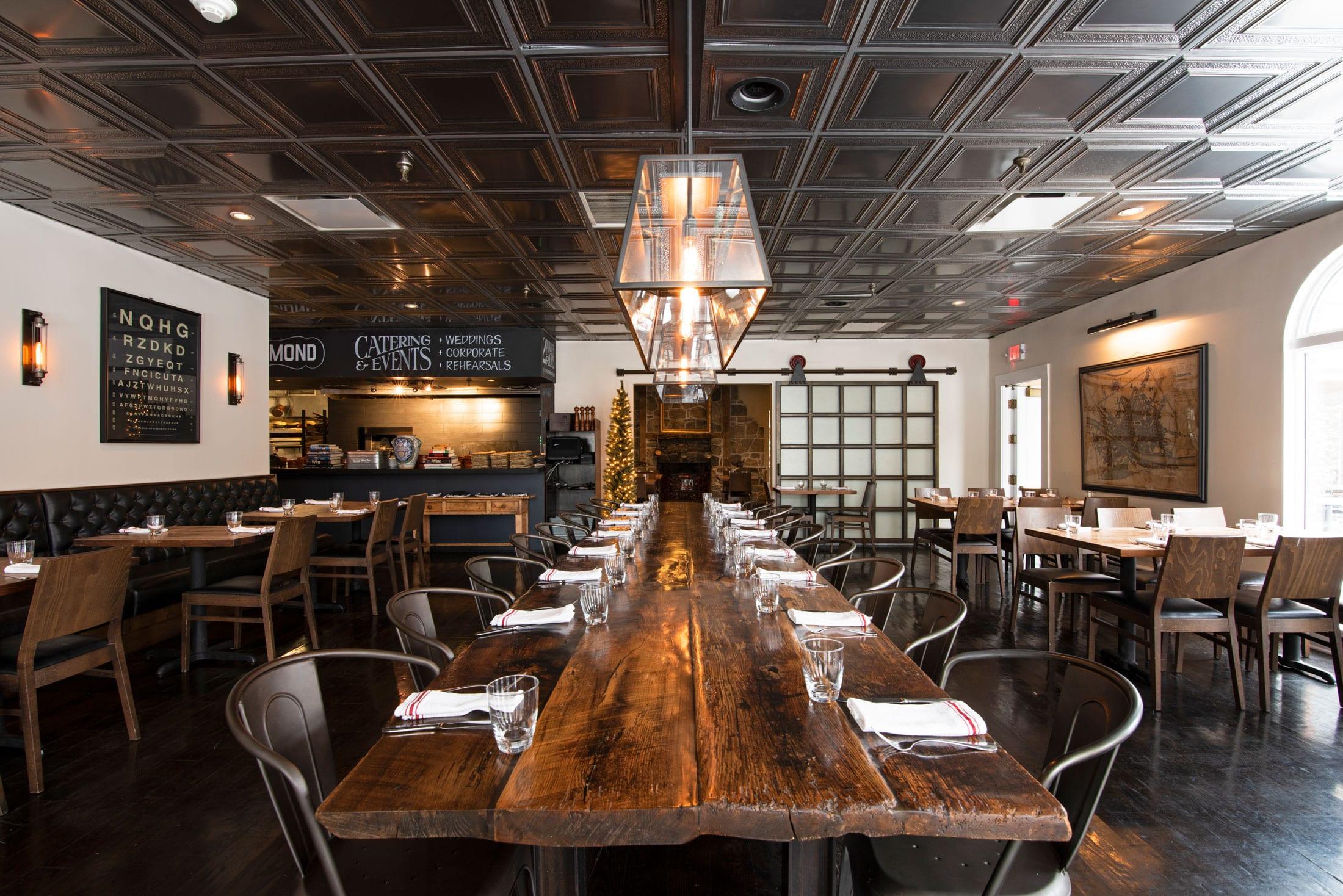 Progressive Farm To Table Restaurant Catering Oak